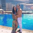 Jazz et son mari Laurent - Instagram, 11 mars 2019