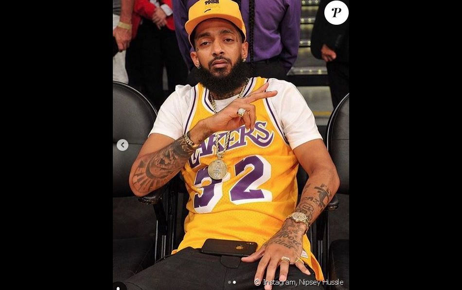 Nipsey Hussle au Staples Center. Octobre 2018.