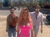 Nabilla, Barbie enceinte très décolletée à Coachella : la future maman s'éclate