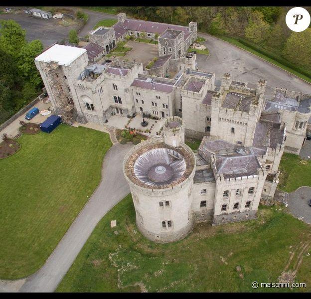 """Le château Gosford, utilisé pour tourner la série """"Game of Thrones"""", en vente en Irlande du Nord."""