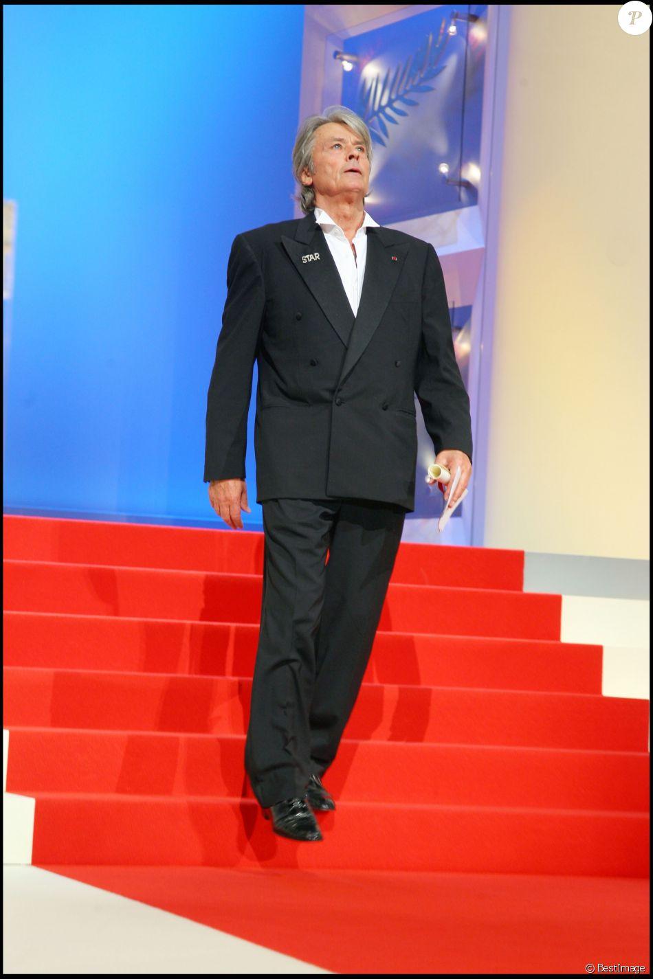 Alain Delon - Cérémonie de clôture du Festival de Cannes 2007