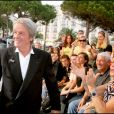 Alain Delon lors du Grand Journal durant le Festival de Cannes 2007
