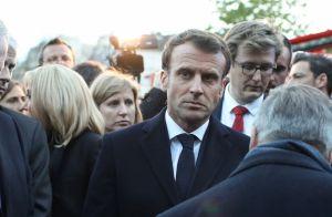 Notre-Dame de Paris : Brigitte Macron au côté d'Emmanuel, profondément ému