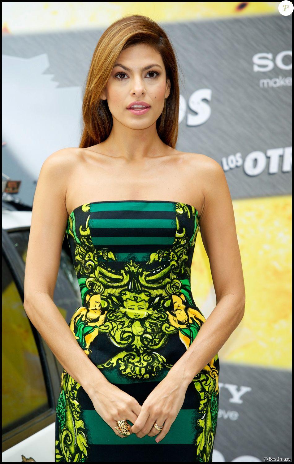 Eva Mendes en 2010.