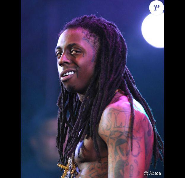 Lil Wayne en concert en juin 2008