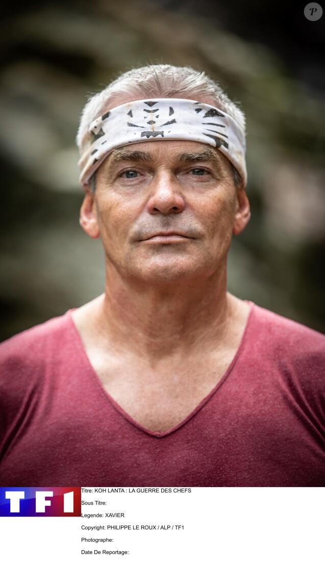 """Xavier, candidat de """"Koh-Lanta, la guerre des chefs"""", sur TF1"""