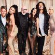 Kylie Jenner, Domenico Dolce, Kourtney Kardashian, Luka Sabbat et Khloé Kardashian - Soirée d'anniversaire de Kourtney Kardashian (40 ans) à Beverly Hills. Le 18 avril 2019.