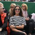 Xisca Perello durant le Rolex Monte Carlo Masters 2019 sur le court Rainier III pour les demi-finales à Roquebrune Cap Martin le 20 avril 2019. © Lionel Urman / Bestimage