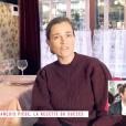 """Jean-François Piège ému en entendant son épouse Elodie parler de lui. Emission """"Clique"""" sur Canal+/ Avril 2019."""