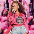 Beyonce en concert au festival de Coachella. Le 21 avril 2018