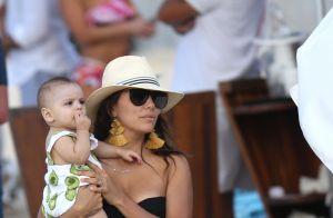 Eva Longoria chez Johnny Hallyday: ses vacances à Saint-Barth dans la villa Jade