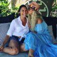 Retrouvailles d'Alessandra Sublet et Laeticia Hallyday. Instagram, le 3 mars 2019.