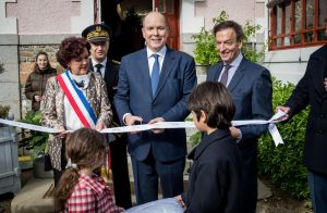 Albert II de Monaco à Granville : hommage