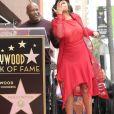 John Singleton avec Taraji P. Henson lors de l'inauguration de l'étoile de cette dernière sur le Walk Of Fame à Hollywood, le 28 janvier 2019 à Los Angeles.