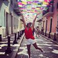 Eva Longoria poursuit ses vacances de rêve ! Après Saint-Barthélemy, elle s'est envolée pour Porto-Rico. Avril 2019.