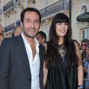 Mélanie Doutey, son chéri l'a rejoint à Cabourg...  rayonnante de bonheur parmi les autres couples ! so romantic !!