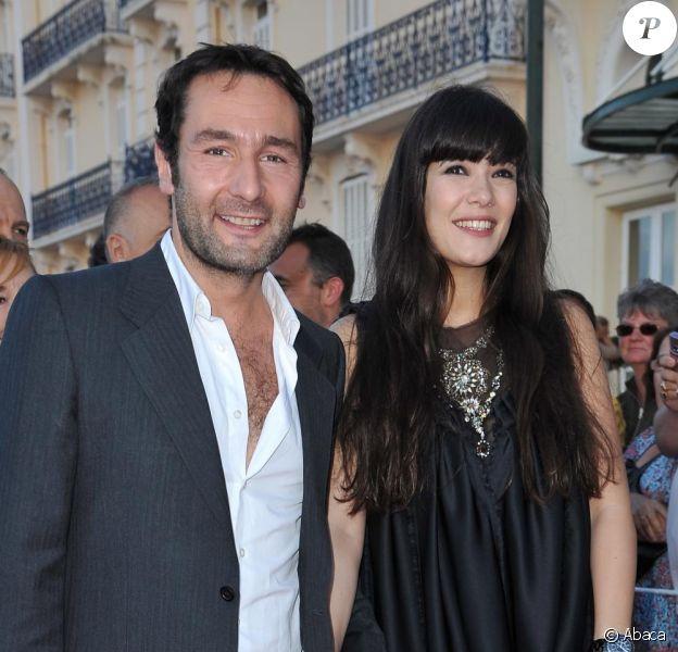 Gilles Lellouche et Mélanie Doutey au Festival d film romantique de Cabourg