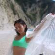 Agathe Auproux se dévoile sexy en bikini à Corfou, en Grèce, en mai 2019.
