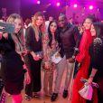 Exclusif - Mamadou Sakho (en béquilles), sa femme Majda, Lalla Rania Benchegra et guest lors de la 14ème édition du Casa Fashion Show au Sofitel Casablanca Tour Blanche à Casablanca, Maroc, le 20 avril 2019. Sept ans déjà que leCasa Fashion Showpromeut la femme marocaine citoyenne du monde. Devenu un rendez-vous incontournable et placé sous le Haut Patronage de Sa Majesté le Roi du Maroc, l'événement porté par K.Cheddadi et chorégraphié par H.Ghorab, se veut le reflet d'une société plurielle et avant-gardiste, jonglant avec brio entre ses racines orientales et sa culture occidentale. Une société solidaire également… L'événement soutenant depuis son lancement l'Association des Bonnes Œuvres du Cœur dont l'objectif est de redonner un souffle de vie et d'espoir aux bébés bleus. Le Casa Fashion Show dévoile au public marocain les collections Printemps/Eté 2019 des griffes les plus prestigieuses: de Etro à Oud Paris, en passant par Elisabetta Franchi, Pinko, Dice Kayek, Just Cavalli ou encore Orza Couture… Les créateurs marocains Lina Cahill et Sara Chraibi revisitent la robe du soir, avec cet œil aiguisé et ce sens pointu du détail qui les caractérisent. Le talentueux couturier tunisien, Ali Karoui (souvent surnommé le nouveau Azzedine Alaia), est présent pour la seconde fois consécutive. Enfin, l'enseigne marocaine de luxe IO sera la chaussure officielle de l'événement et l'Oréal Paris, le partenaire coiffure et make up du show. © Philippe Doignon/Bestimage