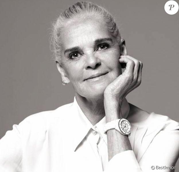 Ali MacGraw - Dernière campagne de publicité pour la montre J12 de Chanel