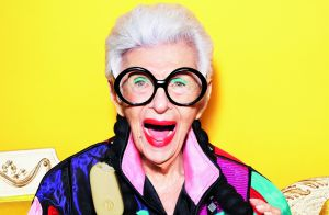 Iris Apfel : 97 ans, fun et gourmande pour le Festival de Cannes