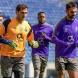 Le footballeur Iker Casillas. 2019.