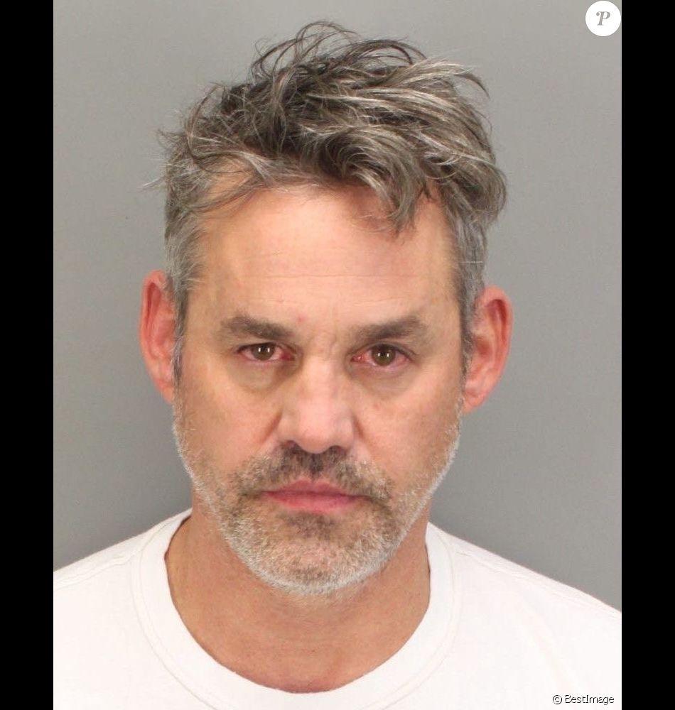 Mugshot de Nicholas Brendon : L'ex-acteur de Buffy arrêté après avoir agressé sa compagne le 18 octobre 2017. Marina del Rey, CA