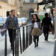 Hayden Christensen et Rachel Bilson en balade à Paris le 29 mai 2009