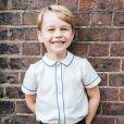 Photo officielle du prince George de Cambridge pour ses 5 ans. Le 9 juillet 2018. Il a eu 5 ans le 22 juillet 2018.