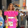 Tyra Banks fait la promotion du magazine Sports Illustrated Swimsuit 2019 dont elle fait la couverture à New York, le 8 mai 2019  Former model and TV host Tyra Banks looks great on Pink while promoting her new Sports Illustrated Swimsuit 2019 cover! 8th may 201908/05/2019 - New York