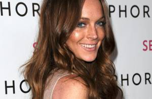 Lindsay Lohan : Une petite voleuse ultra sexy... et topless pour Fornarina !