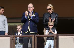 Jacques et Gabriella de Monaco : Adorables supporters stars avec leurs parents