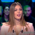 "Iris Mittenaere dans ""Les Terriens du samedi"", 11 mai 2019, sur C8"