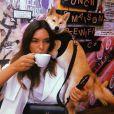Alma et son chien Nino, sur Instagram, le 31 août 2018