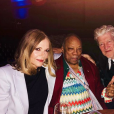 Photo postée par Rashida Jones : Peggy Lipton, Quincy Jones et David Lynch
