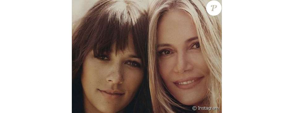 Photo postée par Rashida Jones, avec sa mère Peggy Lipton