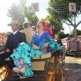 Le roi Willem-Alexander et la reine Maxima des Pays-Bas ont traversé Séville en calèche le 10 mai 2019 lors de la Feria, où ils se sont connus vingt ans plus tôt, avec leurs filles la princesse héritière Catharina-Amalia, la princesse Alexia et la princesse Ariane.