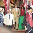Le roi Willem-Alexander et la reine Maxima des Pays-Bas ont participé le 10 mai 2019 à la Feria de Séville, où ils se sont connus vingt ans plus tôt, avec leurs filles la princesse héritière Catharina-Amalia, la princesse Alexia et la princesse Ariane.