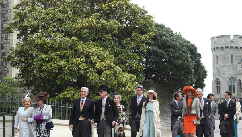 Mariage de Lady Gabriella Windsor avec Thomas Kingston dans la chapelle Saint-Georges du château de Windsor le 18 mai 2019.
