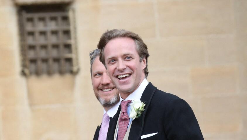 Thomas Kingston - Mariage de Lady Gabriella Windsor avec Thomas Kingston dans la chapelle Saint-Georges du château de Windsor le 18 mai 2019.