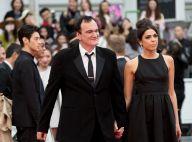 Quentin Tarantino au bras de sa femme Daniela Pick, très chic, à Cannes