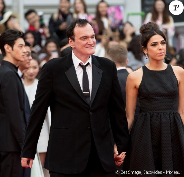 Quentin Tarantino, sa femme Daniela Pick - Montée des marches du film Le lac aux oies sauvages lors du 72ème Festival International du Film de Cannes. Le 18 mai 2019 © Jacovides - Moreau / Bestimage