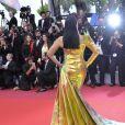 """Aishwarya Rai à la montée des marches du film """"A Hidden Life"""" au 72ème Festival International du Film de Cannes, France, le 19 mai 2019."""