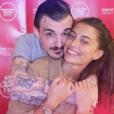 """Guillaume Sanchez, candidat de """"Top Chef 2017"""" avec sa compagne Paloma Coquant. La sublime jeune femme est une comédienne qui monte !"""
