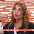 """Ariane Brodier se livre sur sa maternité dans """"Les Maternelles"""" (France 5), le 24 mai 2019."""