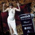 Milla Jovovich lors de la soirée AmfAR Gala Cannes 2019 à l'Eden Roc au Cap d'Antibes, lors du 72ème Festival International du Film de Cannes, le 23 mai 2019. © Jacovides / Moreau / Bestimage