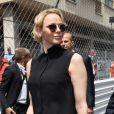 La princesse Charlene de Monaco - People avant le départ du 77ème Grand Prix de Formule 1 de Monaco le 26 mai 2019. © Bruno Bebert/Bestimage