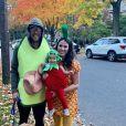 Nick Foles (quarterback des Jacksonville Jaguars en NFL) et sa femme Tori, ici avec leur petite Lily lors d'Halloween 2018 (photo Instagram), ont perdu un petit garçon suite à une fausse couche de Tori en mai 2019.