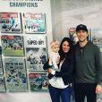 Nick Foles (quarterback des Jacksonville Jaguars en NFL) et sa femme Tori (photo Instagram) ont perdu un petit garçon suite à une fausse couche de Tori en mai 2019. Photo Instagram 20 avril 2018.