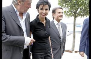 Rachida Dati, toujours élégante, avec son meilleur ami... Alain Delon ! Ils ne se quittent plus !